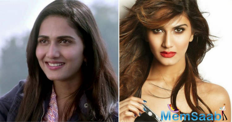 There were rumors that Vaani gets a lip and chin surgery, She joined the big bandwagon of plastic girls.
