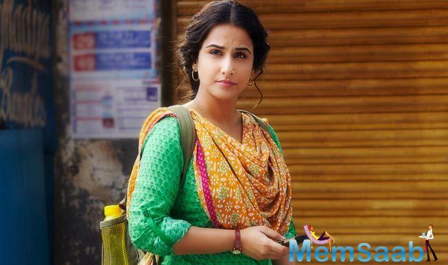 Vidya Balan, a prolific Bollywood actress .She will be next seen in 'Tumhari Sulu'.