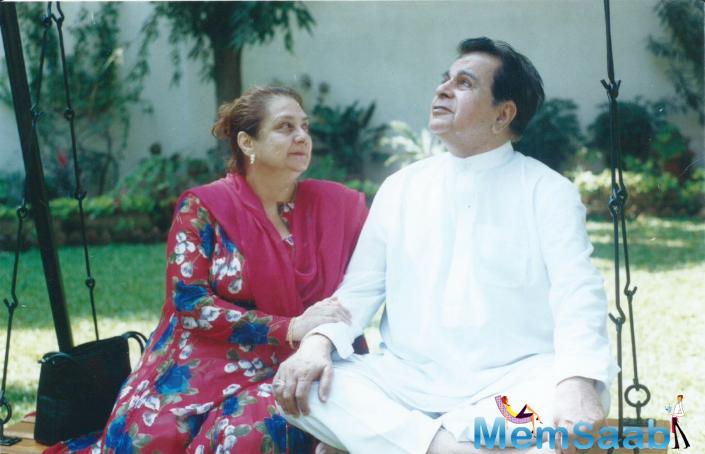 Dilip Kumar was last seen in the film