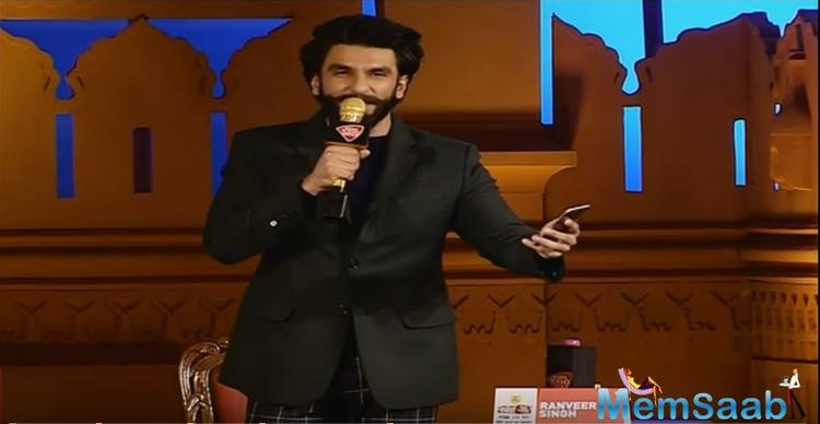 Ranveer Singh, who was addressing a session at Agenda Aaj Tak in Delhi here, saw Ramdev enter the hall and invited him to on the stage to shake a leg.
