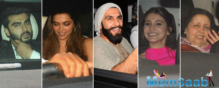 Meanwhile, Ranveer Singh also attended a special screening of Befikre on Friday night