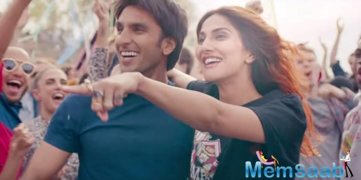 Ranveer- Vaani started Befikre goes well at the box office on it's day 1, and earned 10 crore.