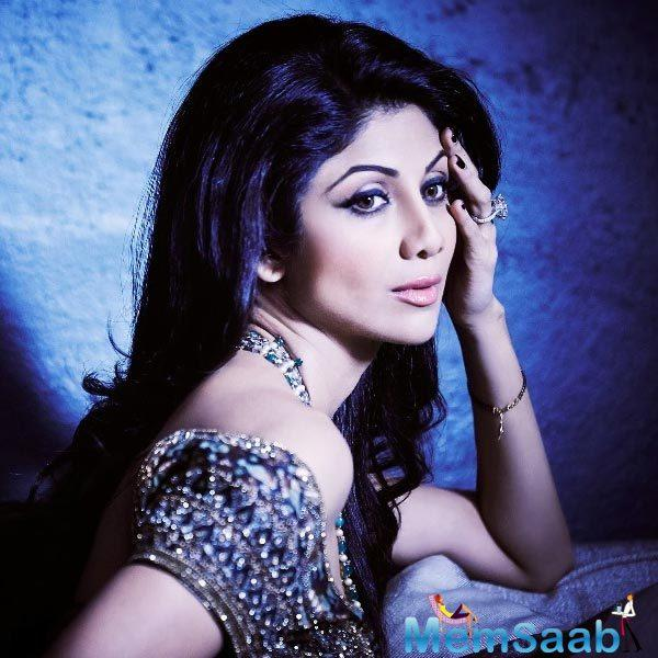 Talking about her creative side, Shilpa said she loves to design jewellery.