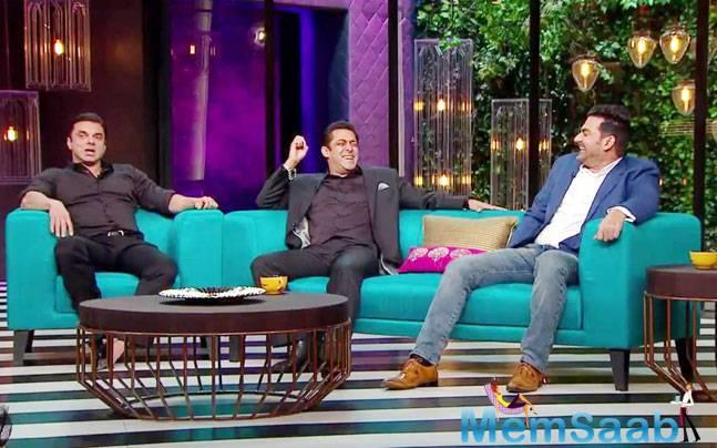 This came after the Sultan star was quizzed about his equation with Iulia Vantur. When interrogated further, Salman said,