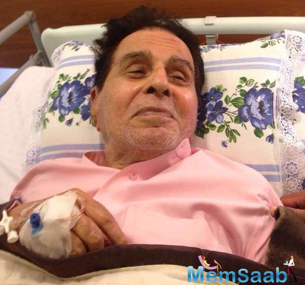Dilip Kumar thanked all his fans and followers for sending him