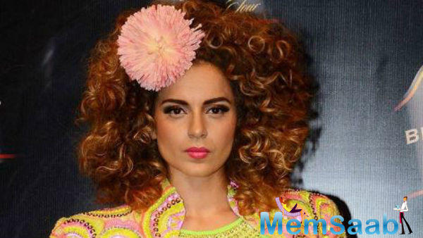 Kangana words as I have no release this year, walking for Manish is a great achievement for me.
