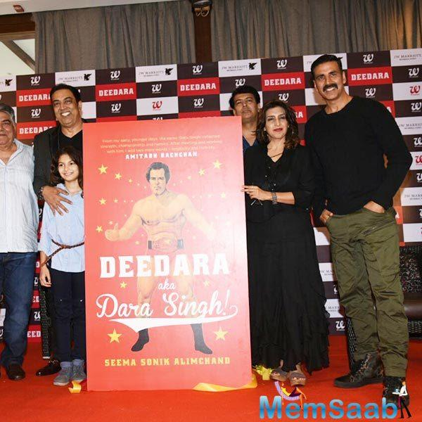Akshay words to be Dara Singh you need a wrestler's body. I have to change my body for that.