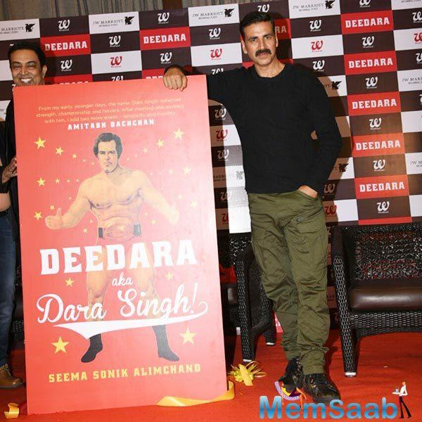 Later Akshay said he would need no less than two years of intense hardcore training to 'justify' the role. Akshay was candid enough to admit that he would need two years to put on the mass.