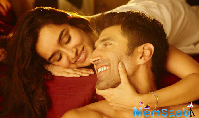 This is Aditya and Shraddha's second film together