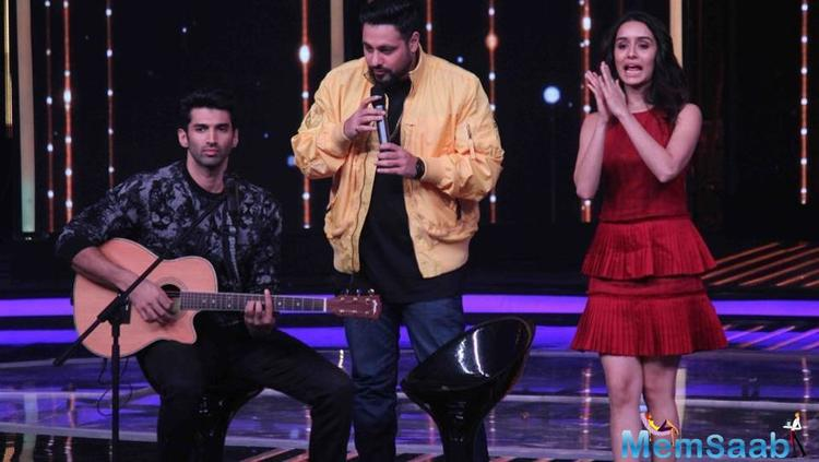 Shraddha Kapoor has sung in films like Ek Villian in the past. And Adi also is set to start his passion for music and will come with his own album soon.