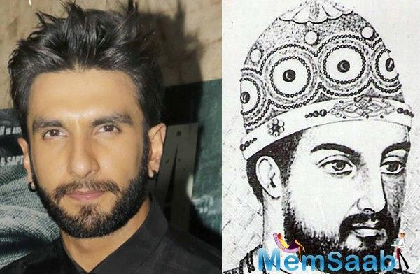 Alauddin Khilji - thought it's a physically, emotionally, mentally very draining role. Ranveer plays medieval-era Delhi ruler, who fell in love with queen Padmavati - played by Deepika.