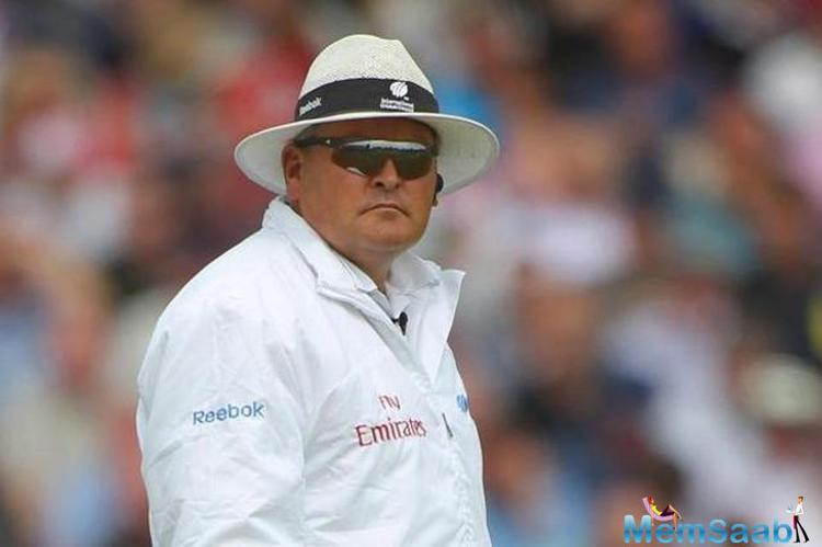 South Africa's Marais Erasmus won the David Shepherd Trophy for the ICC Umpire of the Year 2016.