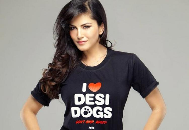 This time, Sunny Leone will receive PETA's person of the year award