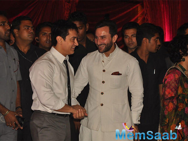 "Salman Khan turned 51, Saif extended his wishes too. ""I'll wish him personally, but Happy Birthday Salman Bhai,"" he said."