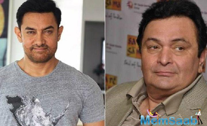 "Aamir Khan thanked Rishi for the sweet compliment by saying, ""Sir, that is the biggest compliment I have received! Thank you sir. I'm so touched. Love. a."""