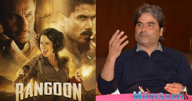 Bhardwaj said in a statement Rangoon is a love triangle set in the era of the Second World War. We have tried to create the ethos of the era but it's a work of fiction