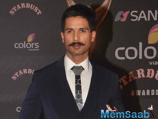 On the work front Shahid is busy working on the filmmaker Sanjay Leela Bhansali's romantic flick