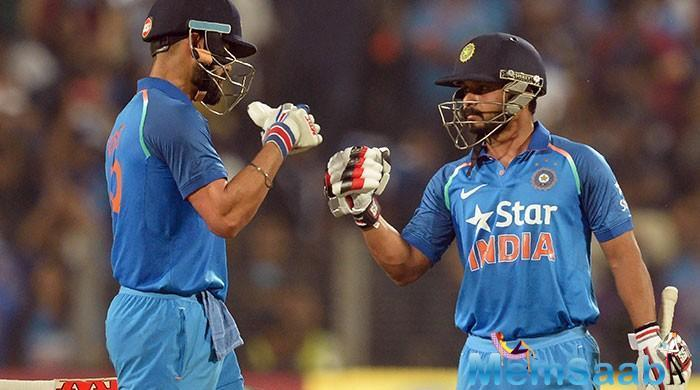 This was one of the best partnership between Virat and Kedar.
