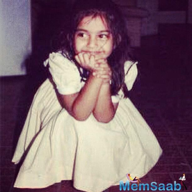 The veteran actor took to Instagram to post an adorable childhood picture of Sonam.