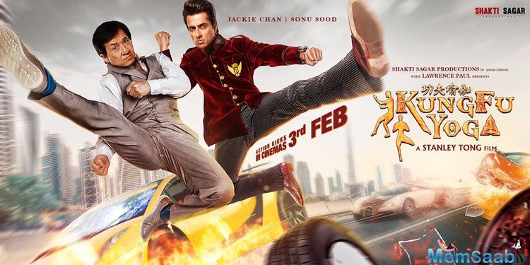 Both the actors have packed a punch in the poster in their action avatars.