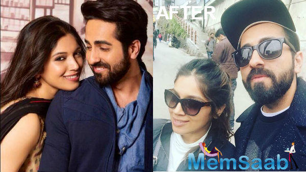 After a two year gap, now Ayushmann and Bhumi  team up again for another quirky love story.