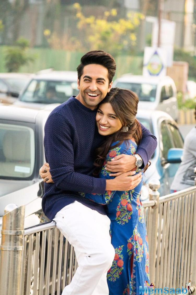 Ayushmann made the announcement of his next venture by sharing a picture of him and Bhumi on social media, in which he's seen embracing her lovingly. How adorable!