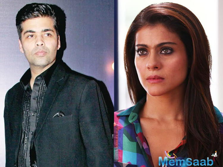 Once upon a time, Karan regarded Kajol as his lucky mascot. So what happened suddenly?