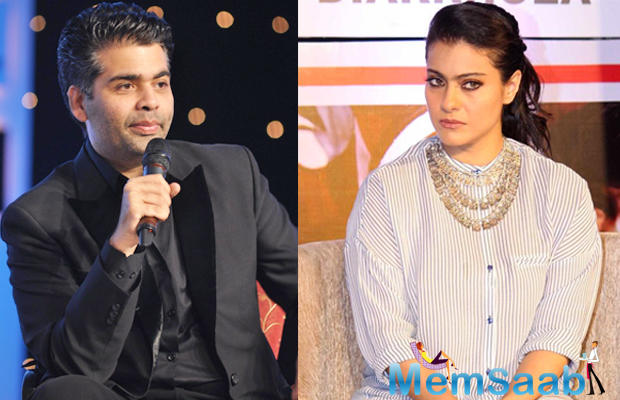 We all know how close Kajol is to Karan Johar. He is one of her best friends.But recently Karan Johar, who ended his long-standing friendship with actress Kajol