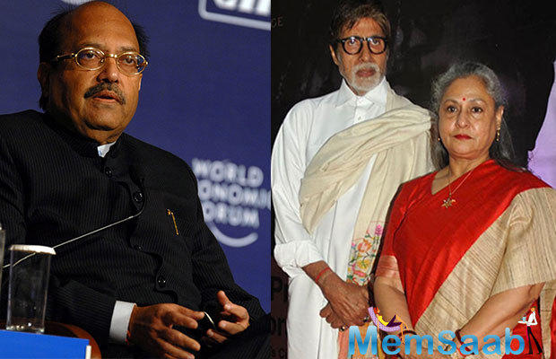 And meanwhile, Singh has pulled in another explosive statement where he claims that Amitabh and Jaya do not stick together anymore
