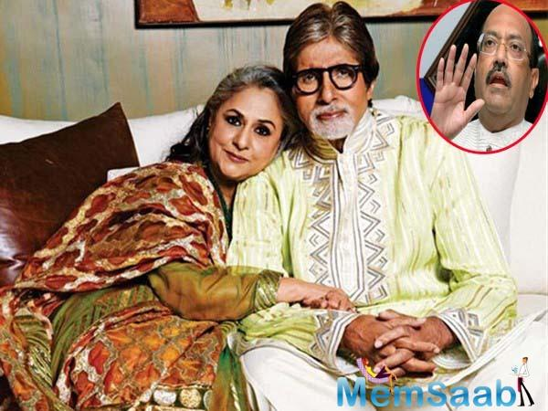 """Earlier, Singh had made headlines when he claimed Amitabh had suggested him not to accept Jaya Bachchan in his political party due to her """"inconsistent nature and habits""""."""
