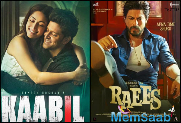 Since Kaabil has received positive reports, a good growth over the extended weekend can be expected.