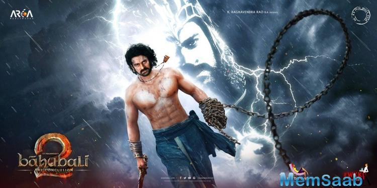 The new poster of the much awaited film 'Baahubali 2' is out, featuring Prabhas and Anushka, are all set to fight,  The two are seen holding arrows in their hand.