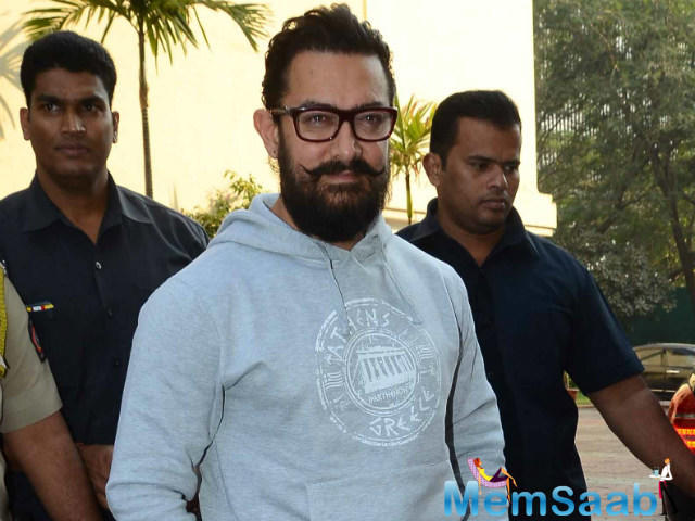 "Further, he said, ""If in future there is something for Aamir, I will definitely work with him."""