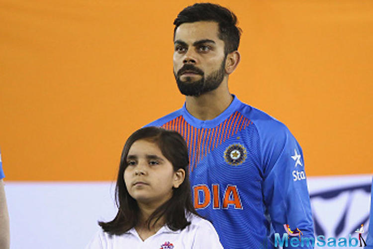 Indian cricket captain Virat Kohli has thanked the nation and his fans for supporting him.