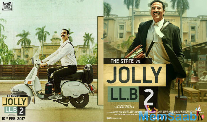 'Jolly LLB 2' also stars Huma Qureshi, Annu Kapoor and Saurabh Shukla in pivotal roles.