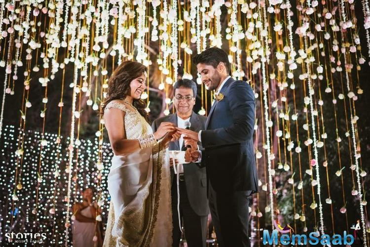 The two got engaged in a private ceremony in Hyderabad, in the presence of family and close friends.