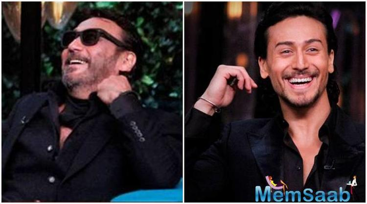 During a rapid-fire round, Karan asked Tiger what he would do if he woke up as Ranveer Singh one day.