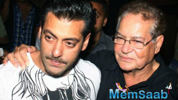 Earlier in an event, Salman Khan also said that father Salim Khan wanted to see him play cricket for the country.
