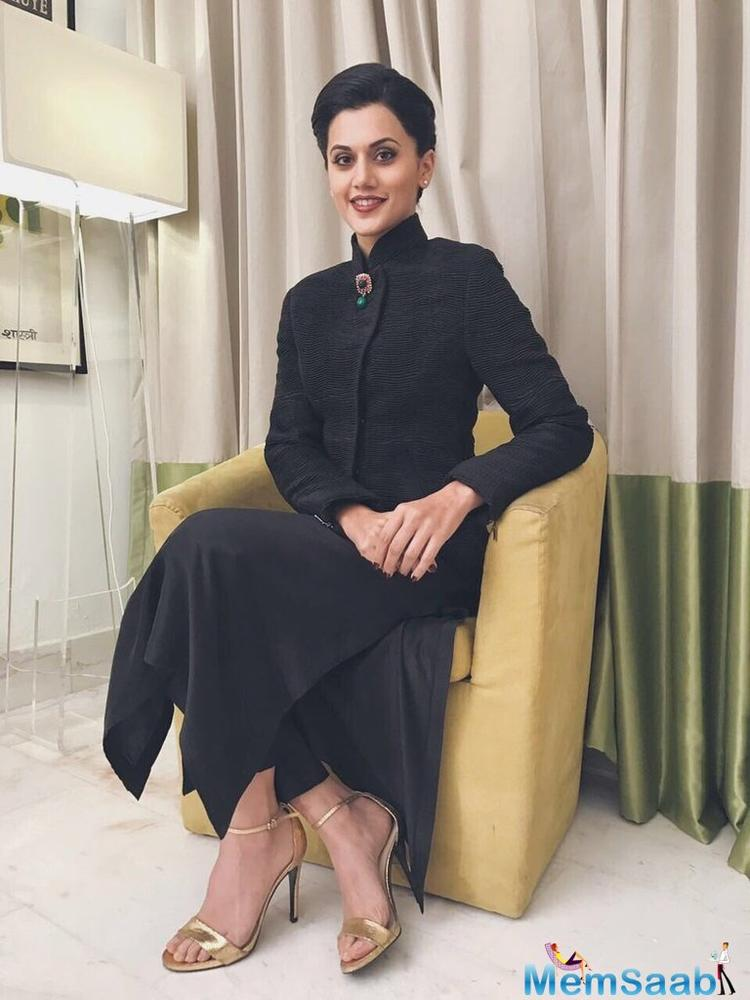 The source revealed Taapsee will also be seen in upcoming Telugu-Hindi bilingual flick 'The Ghazi Attack'.