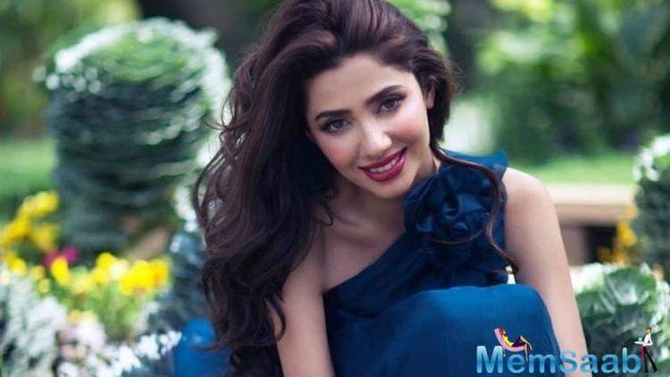 The filmmakers made sure that even Mahira is a part of it. As the stars team up recently addressed a press conference to celebrate the film's global success.
