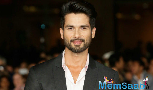 Shahid opens up that a screening of 'Rangoon' was arranged by director Vishal Bhardwaj, especially for his father.