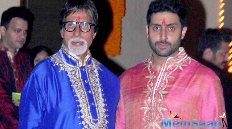 Big B got emotional on Jr Bachchan's birthday and said that Abhishek became a celebrity even before he knew what it meant.