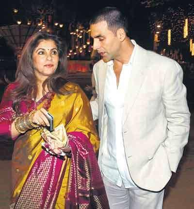 Actor Akshay considers veteran actress and his mother-in-law Dimple Kapadia as his best friend fin Bollywood.