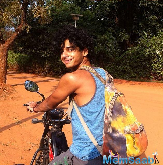Shahid Brother, Ishaan Khattar to make his big screen debut with Beyond The Clouds.