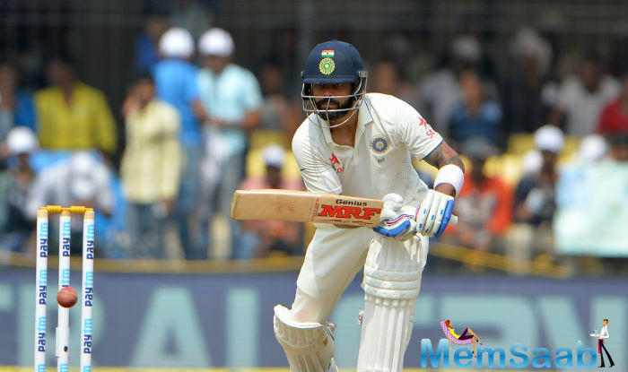 Earlier, In the five-Test series against England, Kohli gained 655 runs.