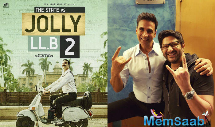 Akshay Kumar starrer Jolly LLB 2 has hit the theaters today and is already receiving good responds from the Audience.
