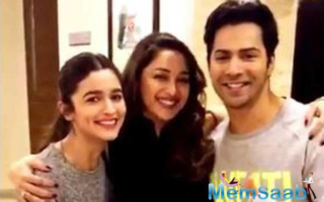 Varun and Alia are gearing up for the release of the recreated version of the song