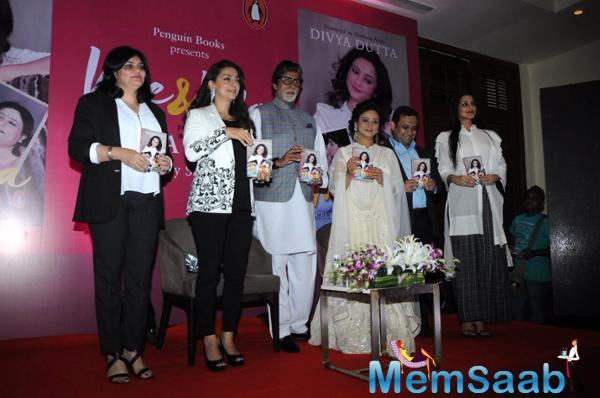 The book is a tribute to her mother and revolves around the friendship Divya shared with her that gave her strength and made her who she is. Juhi and Sonali Bendre, both close friends of Divya Dutta, read excerpts from the book.