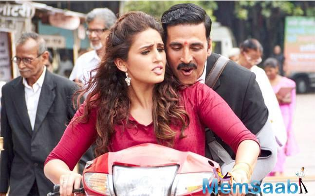 Akshay does complete justice to his role.