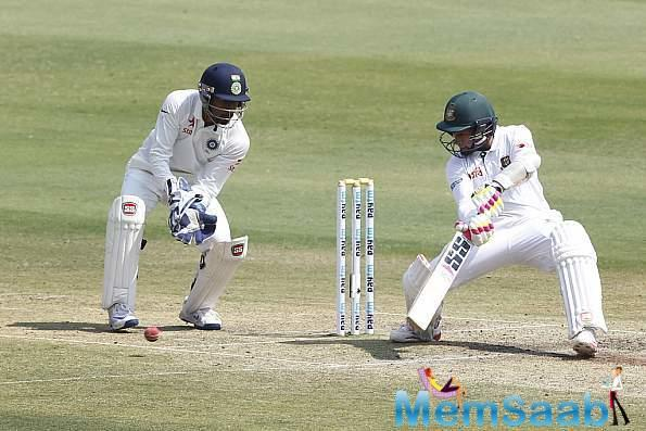 Bangladesh though, were brought on track following two 100-plus run partnerships – first between Shakib and Mushfiqur.